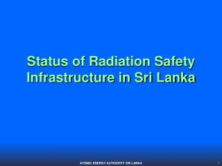 ATOMIC ENERGY AUTHORITY SRI LANKA