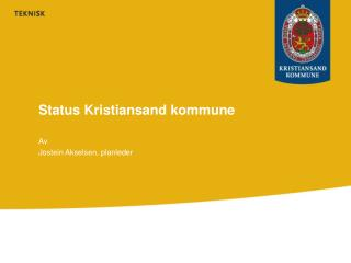 Status Kristiansand kommune