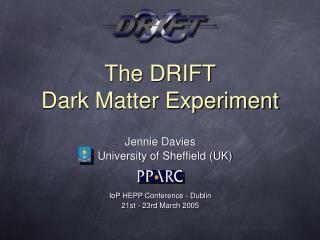 The DRIFT Dark Matter Experiment