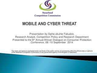 MOBILE AND CYBER THREAT