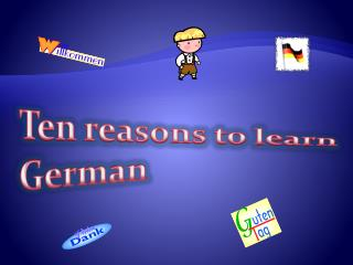 Ten reasons to learn German