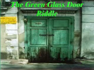 The Green Glass Door Riddle