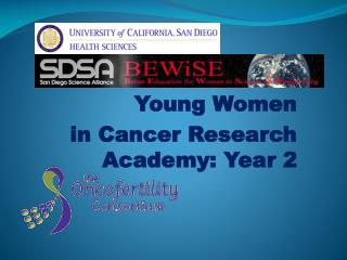 Young Women  in Cancer Research Academy: Year 2