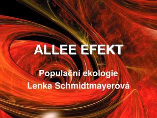 ALLEE EFEKT