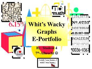 Whit s Wacky  Graphs E-Portfolio