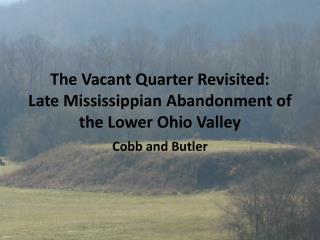 The Vacant Quarter Revisited: Late Mississippian Abandonment of the Lower Ohio Valley