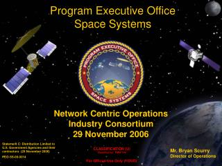 Network Centric Operations  Industry Consortium  29 November 2006