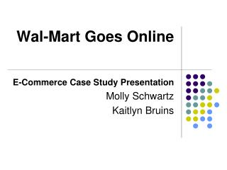 Wal-Mart Goes Online