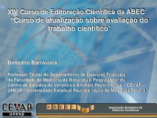 XIV Curso de Editoração Científica da ABEC