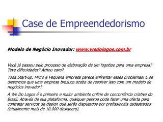 Case de Empreendedorismo