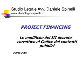 Studio Legale Avv. Daniele Spinelli studiolegalespinelli.it