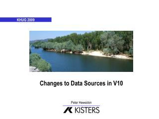 Changes to Data Sources in V10