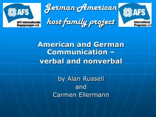 German-American  host-family project