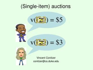 Single-item auctions