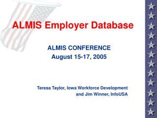 ALMIS Employer Database