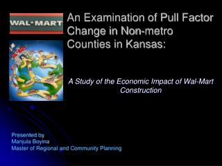 An Examination of Pull Factor Change in Non-metro Counties in Kansas: