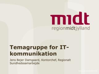 Temagruppe for IT-kommunikation