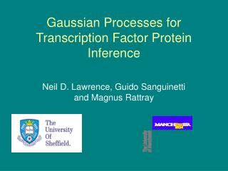 Gaussian Processes for Transcription Factor Protein Inference