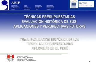 EQUIPO DE PERU: MARCIAL CUELLAR MUÑOZ HEDY HUARCAYA VASQUEZ VICTOR HUGO DIAZ RODRIGUEZ