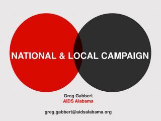 Greg Gabbert AIDS Alabama greg.gabbert@aidsalabama