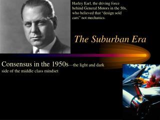 The Suburban Era
