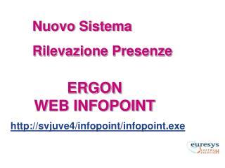 ERGON WEB INFOPOINT