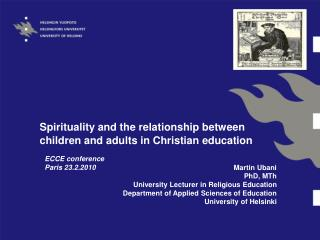 Spirituality and the relationship between children and adults in Christian education