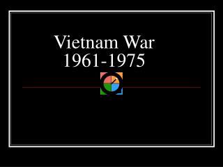 Vietnam War 1961-1975