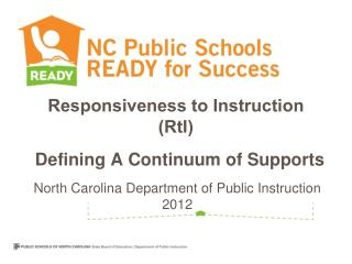 Responsiveness to Instruction (RtI)