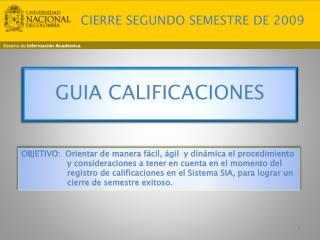 GUIA CALIFICACIONES