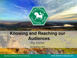 Knowing and Reaching our Audiences