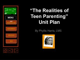 """The Realities of Teen Parenting"" Unit Plan"