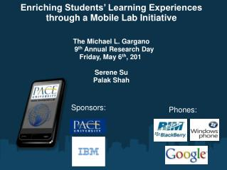 Enriching Students' Learning Experiences through a Mobile Lab Initiative