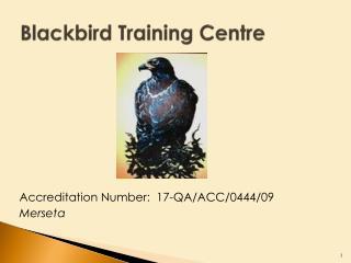 Blackbird Training Centre