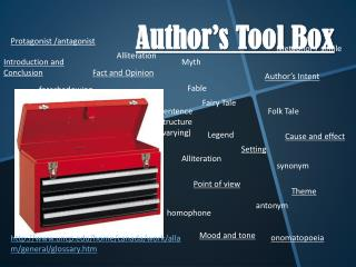 Author's Tool Box
