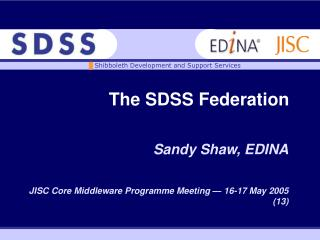 The SDSS Federation