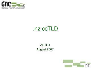 .nz ccTLD