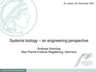 Max-Planck-Institute Magdeburg