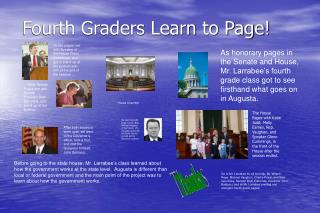 Fourth Graders Learn to Page!