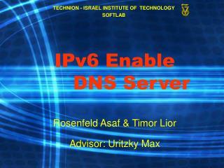 IPv6 Enable     DNS Server
