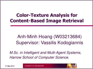 Color-Texture Analysis for Content-Based Image Retrieval