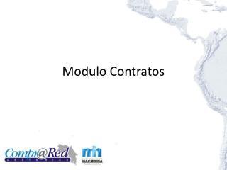 Modulo  Contratos
