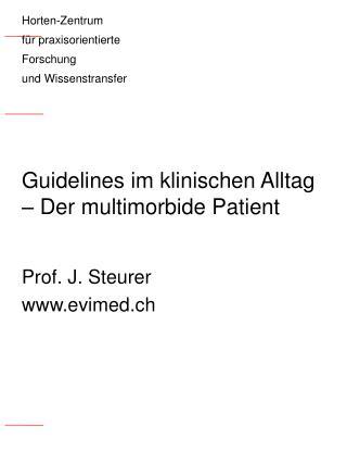 Guidelines im klinischen Alltag – Der multimorbide Patient