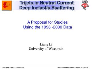 Trijets in Neutral Current  Deep Inelastic Scattering