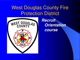 West Douglas County Fire Protection District