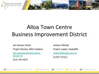 Alloa  Town Centre  Business Improvement District