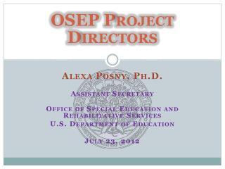 OSEP Project Directors