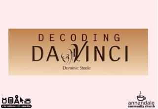 1 Decoding Da Vinci