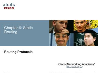 Chapter 6: Static Routing