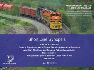 Short Line Synopsis